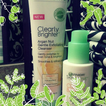 Photo of Garnier® SkinActive Clearly Brighter™ Argan Nut Gentle Exfoliating Cleanser 4.7 fl. oz. Tube uploaded by Kaylani P.