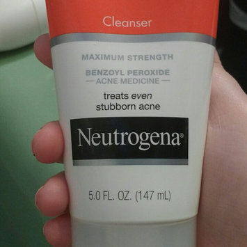 Photo of Neutrogena® Rapid Clear Stubborn Acne Cleanser uploaded by Allena C.