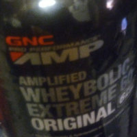 GNC Pro Performance(r) AMP Amplified Wheybolic Extreme 60(tm) Original - Peanut Butter uploaded by Rosemarie C.