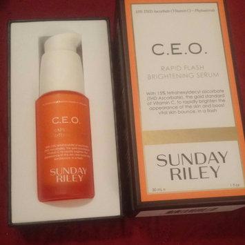 SUNDAY RILEY C.E.O. Rapid Flash Brightening Serum uploaded by Jillian A.