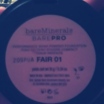 Photo of bareMinerals barePRO Performance Wear Powder Foundation uploaded by Frankie L.