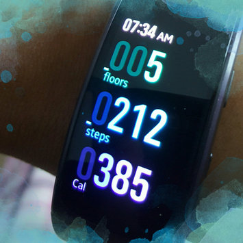 Samsung Gear Fit uploaded by Anita M.