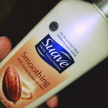 Photo of Suave® Smoothing with Cocoa Butter & Shea Body Lotion uploaded by keren a.