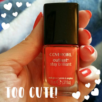 Photo of COVERGIRL Outlast Stay Brilliant Nail Gloss uploaded by Dianne CT M.