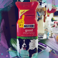 Milk-Bone® Good Morning™ Daily Vitamin Total Wellness Dog Treats 6 oz. Plastic Container uploaded by Patricia R.