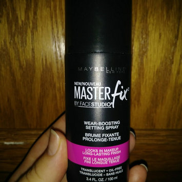Maybelline Facestudio® Master Fix Wear-Boosting Setting Spray uploaded by carrie l.