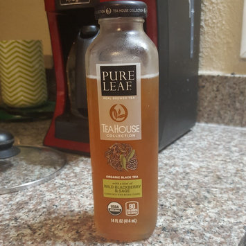 Photo of Pure Leaf® Tea House Collection Wild Blackberry & Sage Organic Black Tea 14 fl. oz. Bottle uploaded by Dawn R.
