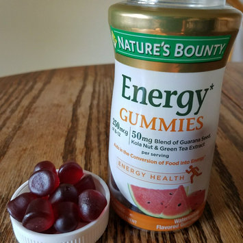 Nature's Bounty® Energy Gummies uploaded by Vicky R.