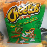Cheetos Crunchy Cheddar Jalapeno uploaded by Danielle H.