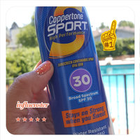 Coppertone Sport High Performance Sunblock Spray uploaded by Suzanne P.