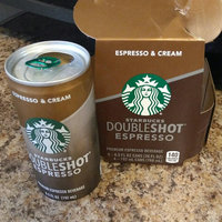 Starbucks Double Shot Espresso And Cream Coffee Drink uploaded by Crystal W.