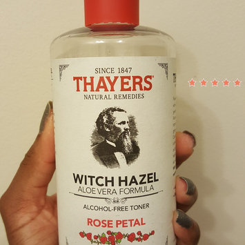 Thayers Alcohol-Free Rose Petal Witch Hazel Toner uploaded by Jasmine B.