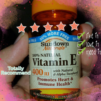 Sundown Naturals Vitamin E uploaded by Lidia R.