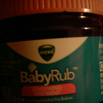 Photo of Vicks Baby Rub Soothing Ointment uploaded by Veronica V.