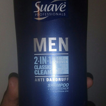 Photo of Suave Men 2-in-1 Anti Dandruff Shampoo + Conditioner - 28.0 fl oz uploaded by Nicole H.
