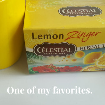 Photo of Celestial Seasonings® Lemon Zinger® Herbal Tea Caffeine Free uploaded by Felicia G.