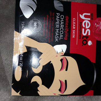 Yes to Tomatoes Paper Mask, Single Pack, Charcoal, 1 ea uploaded by Denise H.