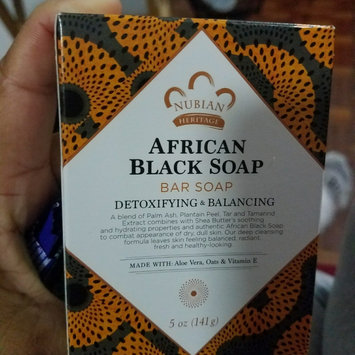 Photo of Nubian Heritage African Black Soap uploaded by Iris R.