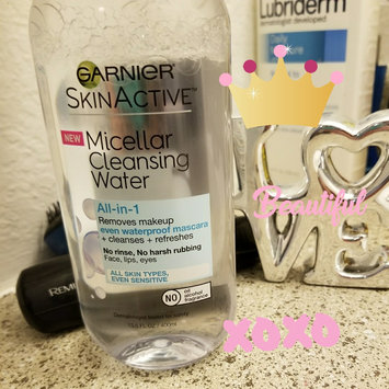 Garnier Skin Skinactive Micellar Cleansing Water All-In-1 Cleanser and Waterproof Makeup Remover uploaded by Maria gabriela J.