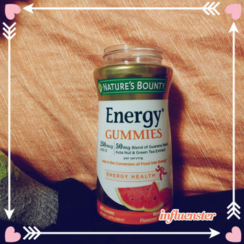 Nature's Bounty® Energy Gummies uploaded by Tabitha C.