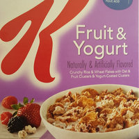 Kellogg's Special K Fruit & Yogurt Cereal uploaded by Meika L.
