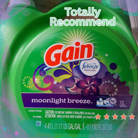 Gain 2X Moonlight Breeze Hec Liquid Laundry Detergent, 72ld, 150oz uploaded by Heidi B.