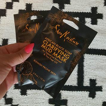 SheaMoisture African Black Soap Clarifying Mud Mask uploaded by Brenda G.