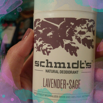 Photo of Schmidt's Deodorant Lavender + Sage Deodorant uploaded by Marissa S.