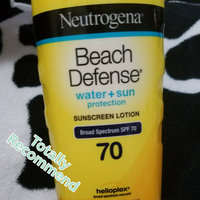 Neutrogena Beach Defense Sunscreen Lotion Broadspectrum SPF 70 uploaded by Daphine H.