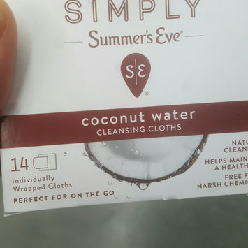Simply Summer's Eve Coconut Water Feminine Wipe - 14ct, None - Dnu uploaded by Keiondra J.