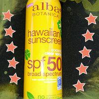 Alba Botanica Hawaiian Sunscreen Coconut Clear Spray uploaded by Alicia O.