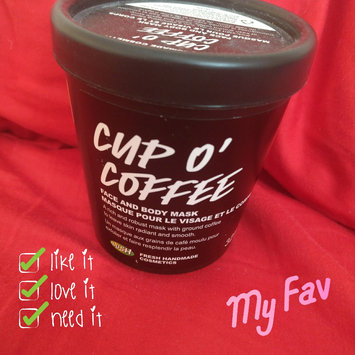 LUSH Cup O' Coffee Face and Body Mask uploaded by Diana M.
