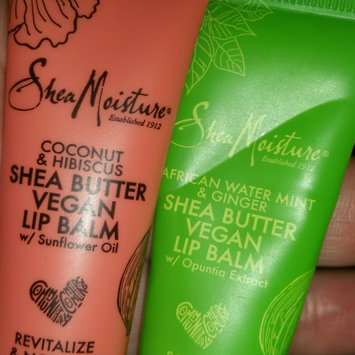 Photo of SheaMoisture African Water Mint & Ginger Shea Butter Lip Balm uploaded by Mina R.