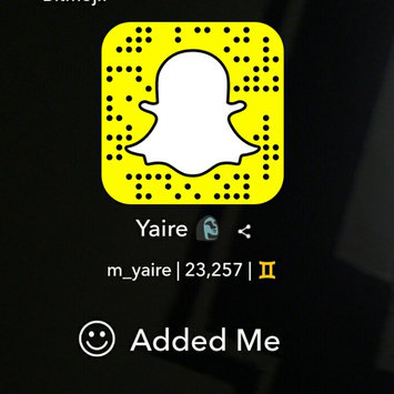 Snapchat, Inc. Snapchat uploaded by Yaire M.