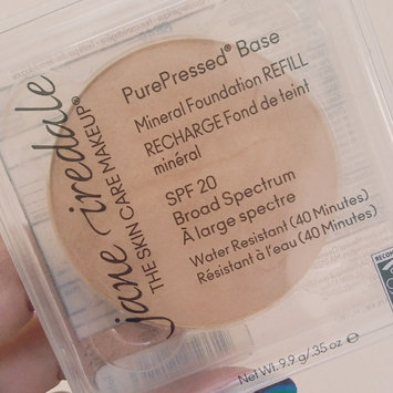Photo of Jane Iredale PurePressed Base Refill Pan SPF 20 uploaded by Trang N.