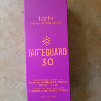tarte tarteguard 30 sunscreen lotion Broad Spectrum SPF 30 uploaded by Elaine S.