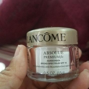 Photo of Lancôme Absolue Premium βx Day Cream Sunscreen Broad Spectrum SPF 15 Replenishing and Rejuvenating Moisturizer uploaded by Iris R.