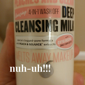 Photo of Soap & Glory Peaches and Clean Deep Cleansing Milk - 11.8 fl oz uploaded by Jennie D.