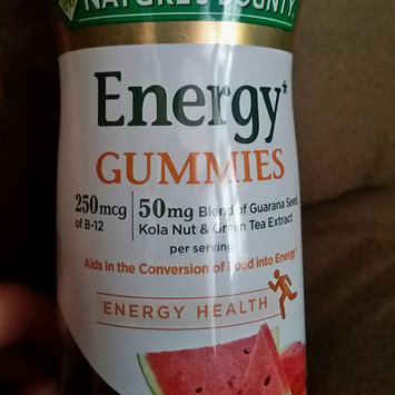 Nature's Bounty® Energy Gummies uploaded by Carrie W.