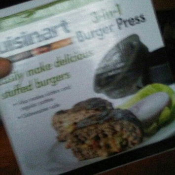 Photo of Cuisinart CSBP-100 3-in-1 Stuffed Burger Press uploaded by Tasha J.