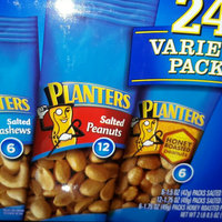Planters Variety Pack Salted Cashews, Salted Peanuts, Honey Roasted Peanuts uploaded by Giselle O.