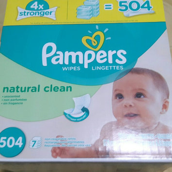 Pampers Wipes Natural Clean uploaded by Giselle O.