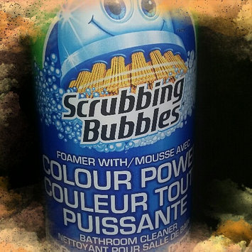 Photo of Scrubbing Bubbles Bathroom Cleaner Spray, Orange Action, 950 ml uploaded by Jennah-Lee M.