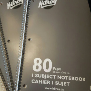 Hilroy Executive Coil Three Subject Notebook uploaded by Jeri B.