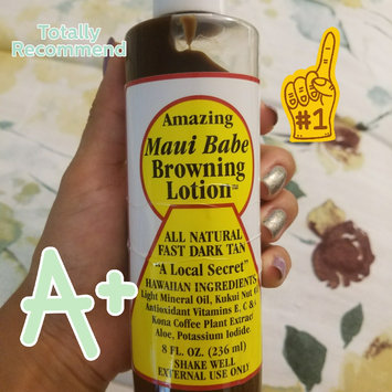 Maui Babe Browning Lotion uploaded by Stephanie M.
