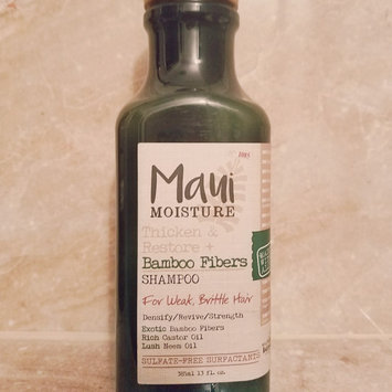 Photo of Maui Moisture Thicken & Restore Bamboo Fibers Shampoo uploaded by Sarah C.