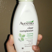 Aveeno® Clear Complexion Foaming Cleanser uploaded by Andrea G.