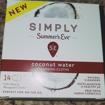 Simply Summer's Eve Coconut Water Feminine Wipe - 14ct, None - Dnu uploaded by keren a.