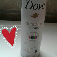 Dove® Invisible Antiperspirant Dry Spray Clear Finish uploaded by Yuliana S.