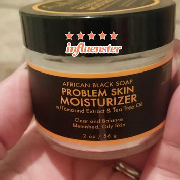 SheaMoisture African Black Soap Problem Skin Moisturizer uploaded by Jessica J.